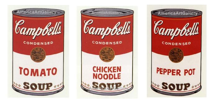 Andy Warhol Campbell Soup Original